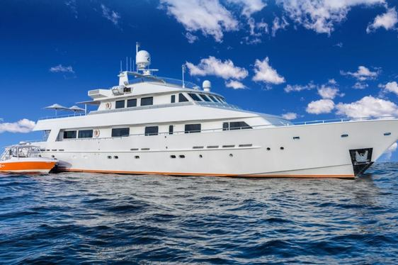 Charter Yacht LIONSHARE Completes Extensive Refit
