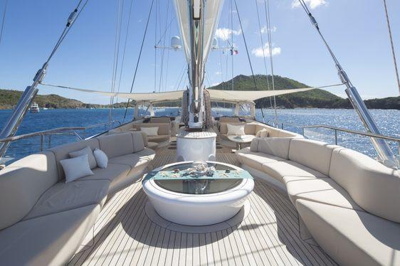 Save 12.5% Aboard Perini Navi Sailing Yacht PANTHALASSA