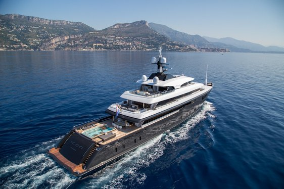 Superyacht ICON Offers Special Rate for February Charters in the Caribbean