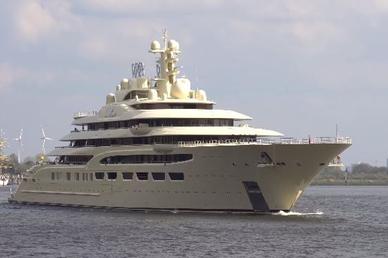 Video: Brand New 156m Superyacht DILBAR (EX: Project OMAR) Undergoes Further Sea Trials