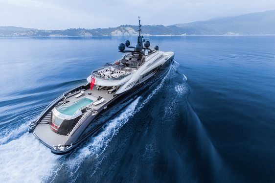 Superyacht OKTO Joins Global Charter Fleet