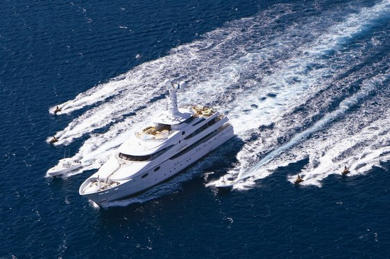 Luxury Yacht 'Lady Sheridan' Cruises the French Riviera