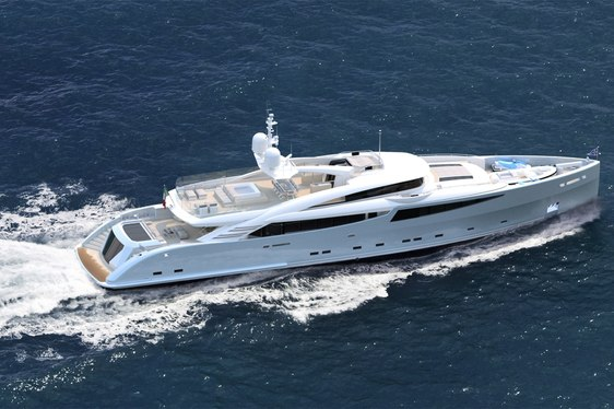 Superyacht PHILMI cruising on the French Riviera on an event charter