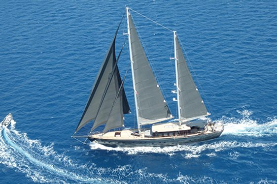 Sailing Yacht 'Rox Star' Relocates to the West Mediterranean