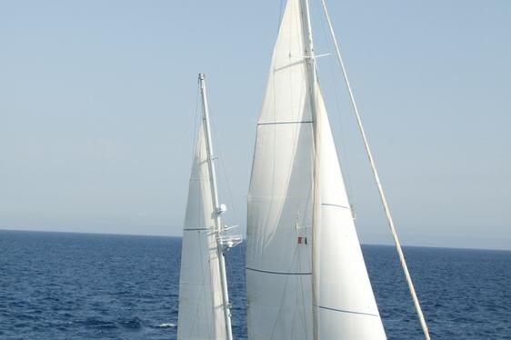 Sailing yacht VOLADOR sailing in the French Riviera on a luxury yacht charter