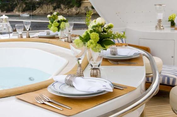 Luxury Yacht BALAJU Offers Special Thanksgiving Deal in the Bahamas