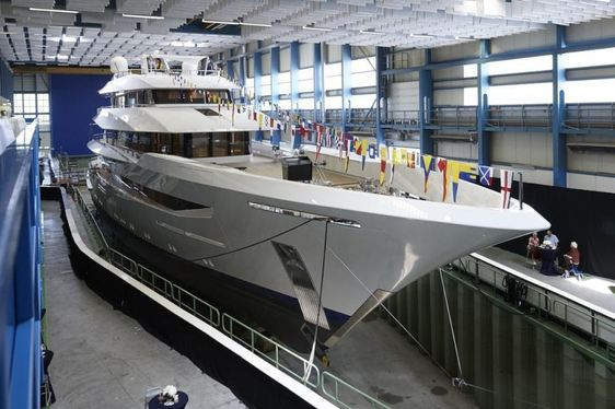 Brand New Feadship Superyacht JOY Launched
