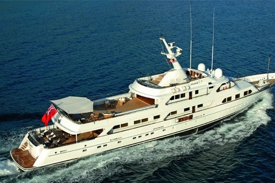 Mirage classic superyacht charter