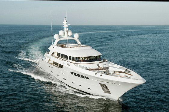 M/Y NASSIMA cruising in the Western Med