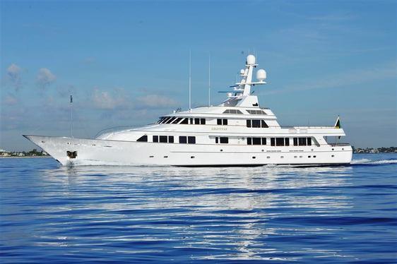 Superyacht GRAVITAS has Open Charter Calendar in the Bahamas