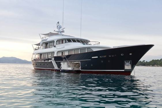 Special Offer on Superyacht 'HELIAD II'