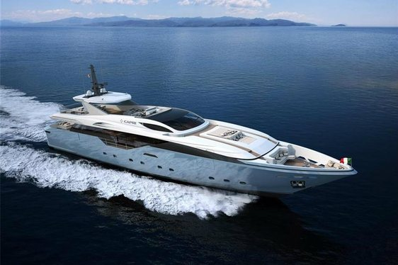 Luxury Motor Yacht  'FLYING DRAGON' Available in the Caribbean from December