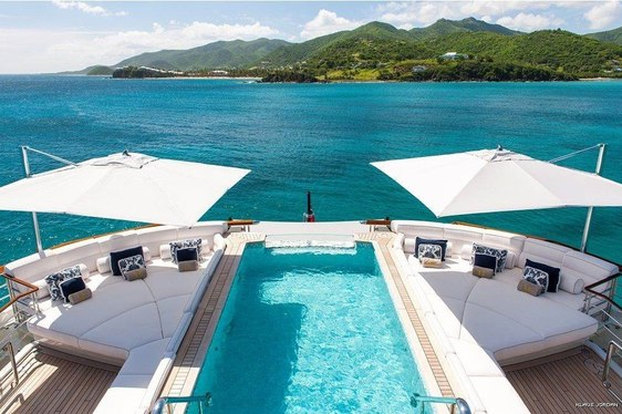 Exploring the Virgin Islands by Megayacht this Winter