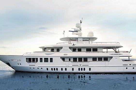 Brand New Motor Yacht Pride Makes Charter Debut
