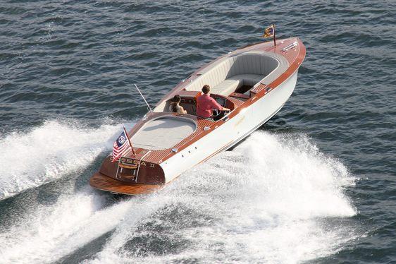 Charter Yacht ODESSA II Features New-Design Hacker Tender