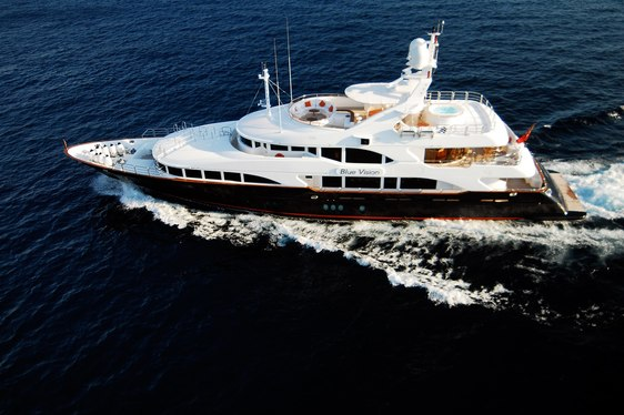 Superyacht 'BLUE VISION' Available in Spain