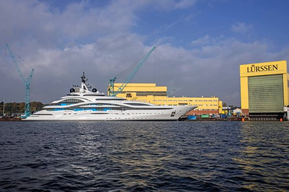 Lurssen Project JUPITER Name Revealed As Superyacht 'Al Lusail'