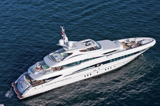 Luxury Motor Yacht INCEPTION Available in the Caribbean