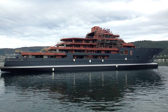 Video – 107m ULYSSES Launched in Norway