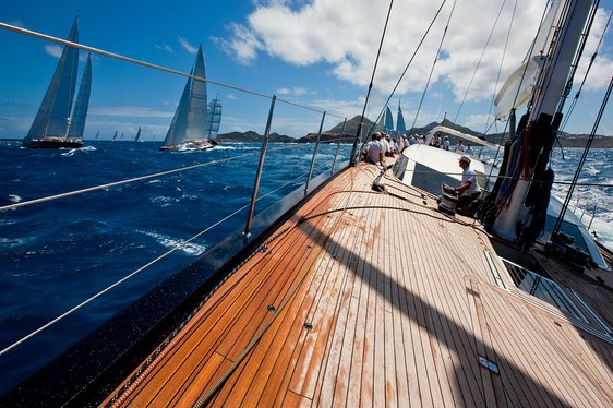 Charter Yachts Prepare for St Barths Bucket Regatta 2017