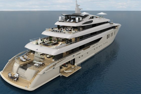 Icon Yachts 75.8m Superyacht Project 'ICON 250' Under Construction