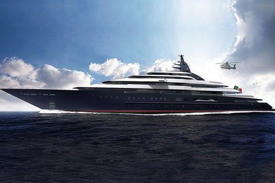 139m Lurssen Superyacht Ordered - Project REDWOOD