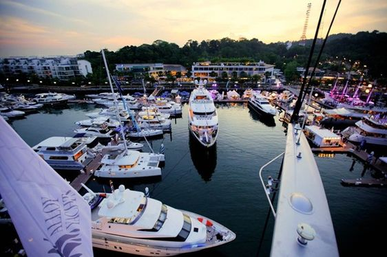 VIDEO: Day 2 of Singapore Yacht Show 2015