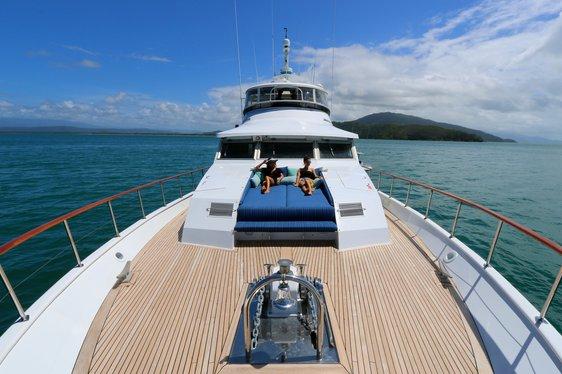 Luxury Yacht BAHAMA Joins Australian Charter Fleet