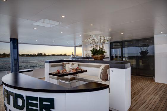 Iconic Superyacht HIGHLANDER Hosts New Generation of Stars