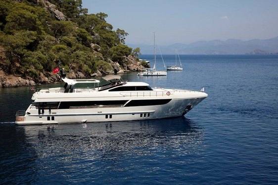 Motor Yacht ARCHSEA enters charter market in Turkey