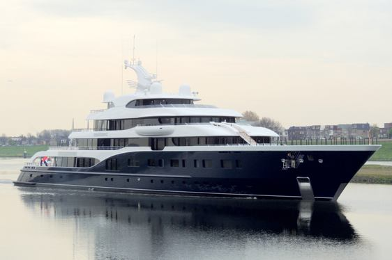 Superyacht SYMPHONY Complete - Heading to Mediterranean for Maiden Charter Season