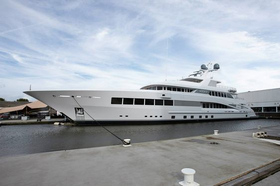 Feadship Release Details on Superyacht ROCK.IT