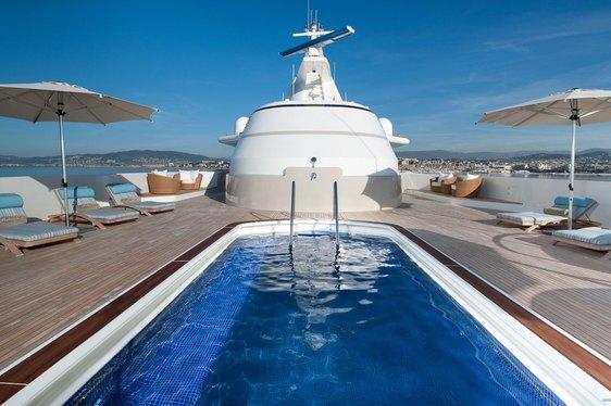 Amels Motor Yacht BOADICEA Gets Ready for Monaco Yacht Show 2016