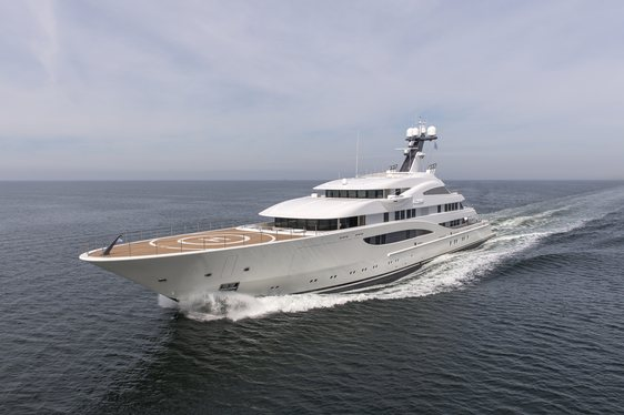 Lurssen Superyacht ARETI To Make World Debut At Monaco Yacht Show 2017