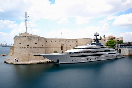 Superyacht KISMET to star in $150 million movie, 'Six Underground'