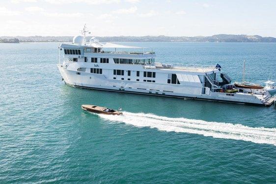 Superyacht SuRi Stars in New Movie 'Mechanic: Resurrection'