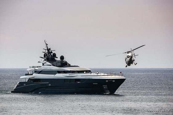 Superyacht SARASTAR spotted filming for new movie 'Murder Mystery' in Monaco