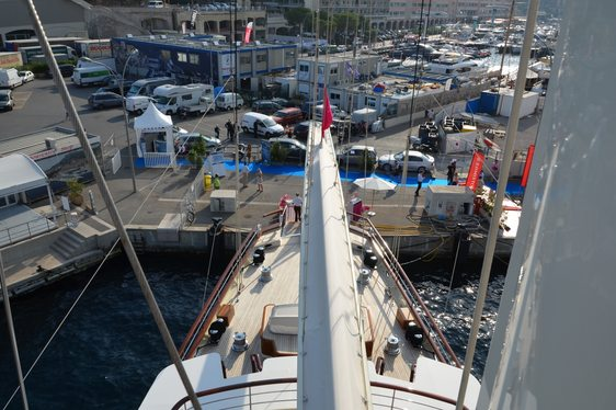Luxury Sailing Yacht ATHENA Largest Yacht at 2014 Monaco Yacht Show