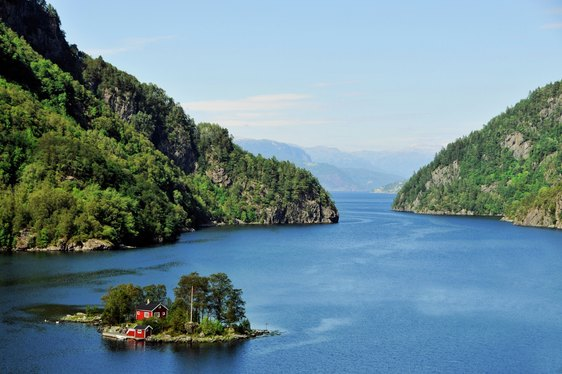 Norway fjords idyllic charter destination