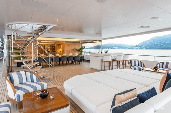 Mediterranean charter deal: Feadship superyacht JOY offers special discount