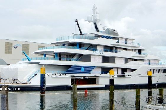 Newly Launched Feadship Motor Yacht 'Project 1005' Named 'Royal Romance'
