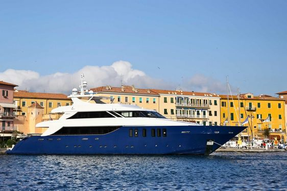 OURANOS Yacht Returns to Charter Market as Superyacht IPANEMAS