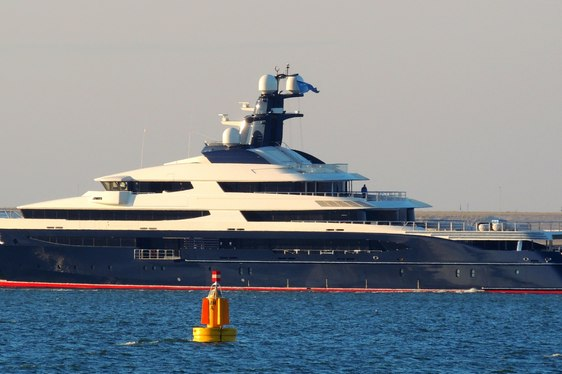 "New Oceanco ""Equanimity"" Superyacht (exY709) on sea trials earlier this month"