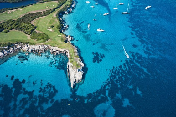 Superyacht Golf Vacations in the Mediterranean