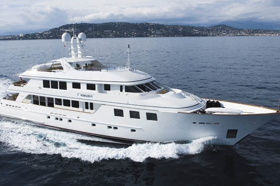 Superyacht MIM New to Charter Fleet
