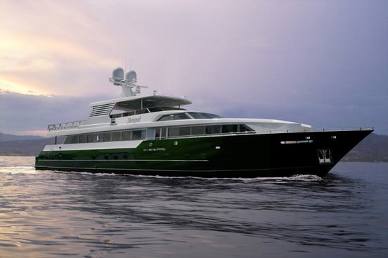 Luxury Motor Yacht SERQUÉ New to the Charter Fleet