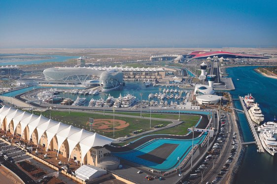 Build-Up for Abu Dhabi Grand Prix 2014 Begins