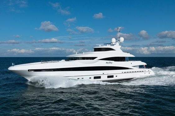 Heesen built motor yacht 'MySky' has been delivered to her Owner