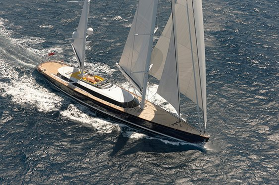 Mondango3 Superyacht  during seatrials in New Zealand