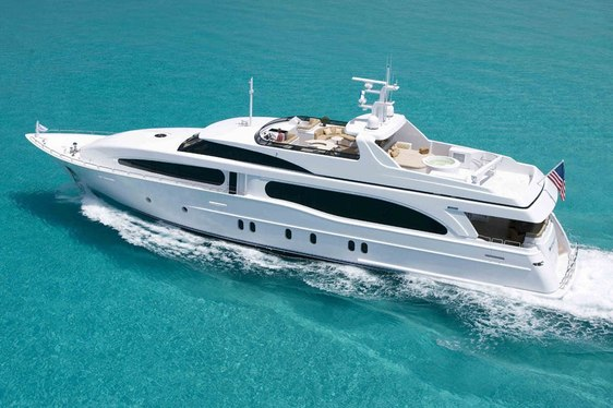 'Heritage III' yacht cruising in the Bahamas on charter